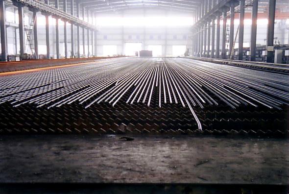 莱钢棒材厂小型生产线