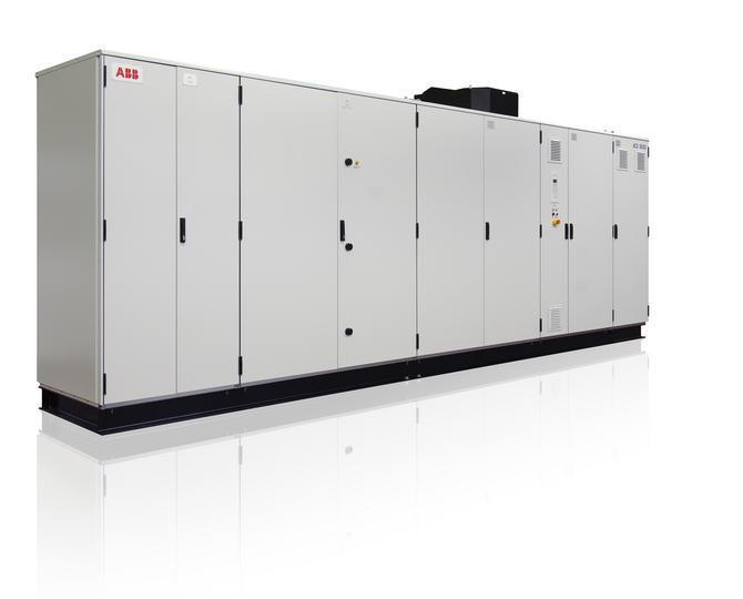 高线精轧机组LCI中压传动系统