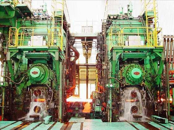 板带厂热轧带钢车间传动系统